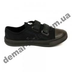 Детские кеды-тапочки 3F Fredom For Feet TRAMPEK 4BS9/3 черные