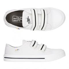 Детские кеды-тапочки 3F Fredom For Feet TRAMPEK 4BS9/4 белые
