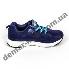 Детские кроссовки Adidas сине-белые пенка