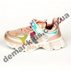 Детские кроссовки Alemy Kids бело-розовые
