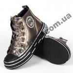 Детские демисезонные ботинки Apawwa 191-1G Gold 31-36