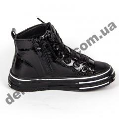 Детские демисезонные ботинки Apawwa 191-1B Black 31-36