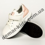 Детские кроссовки Apawwa GC25-1 PINK бело-розовые