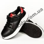 Детские кроссовки Apawwa GC26-1 BLACK черно-красные