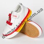 Детские кроссовки Apawwa GC05-1 RED бело-красные 20-25