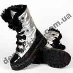 Детские зимние ботинки-трансформеры Apawwa DD51 SILVER 26-31
