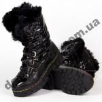 Детские зимние ботинки-трансформеры Apawwa DD51 BLACK 26-37