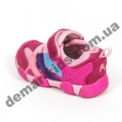 Детские кроссовки BIKU-KIDS малиново-розовые ( 21-25 )
