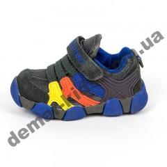 Детские кроссовки BIKU-KIDS серо-синие ( 21-25 )