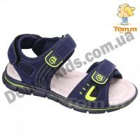 Детские босоножки Том B3425A сине-зеленые средние