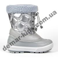 Зимние дутики Demar FURRY 2 Light 1510NE серебро 30-35