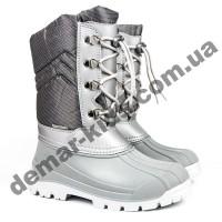 Зимние дутики Demar VOYAGER Light серебро 1315E