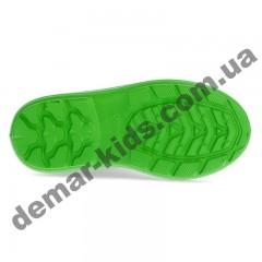 Детские резиновые сапоги Demar VIBES B/ VIBES-M B зеленый