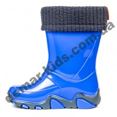 Детские резиновые сапоги Demar STORMER LUX A ( светло-синий )