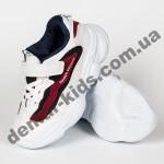 Детские кроссовки Jong Golf B2419 бело-синие 26-31