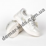 Детские кроссовки Jong Golf белые 22-27