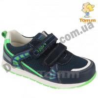 Детские кроссовки Том М 5429E сине-зеленые средние