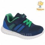 Детские кроссовки Том М 5564W сине-зеленые средние