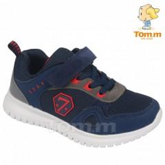 Детские кроссовки Том М 5565A сине-красные семерка средние
