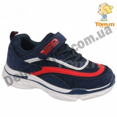 Детские кроссовки Том М 5660H сине-красные средние