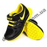 Детские кроссовки NIKE черно-желтые