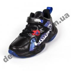 Детские кроссовки R-Walker черно-синие ( 32-37 )