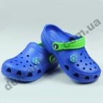 Детские сабо кроксы (сланцы, шлепки, вьетнамки ) Jose Amorales синие мячик