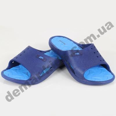 Детские сланцы ( шлепки, вьетнамки ) Wink сине-голубые 2