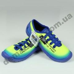 Детские кеды-тапочки 3F Fredom For Feet MIDAS 3RX14/1 сине-лимонные