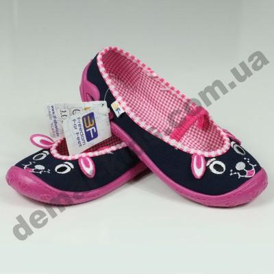 Детские тапочки 3F Fredom For Feet PRIMA 3A1/16 ушки
