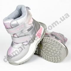 Детские термоботинки-дутики Том М C-T9525-C серебро 23-28