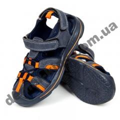 Детские босоножки Том М сине-оранжевые средние пенка