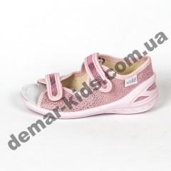Детские текстильные босоножки Waldi Ира розовые 23-30
