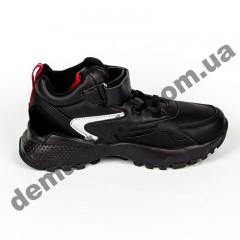 Детские кроссовки Baas K6140-1 черно-красные
