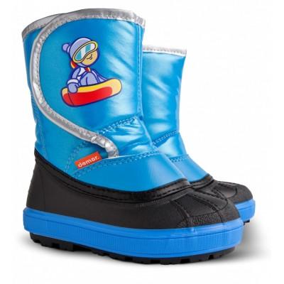 Детские зимние дутики Demar Snow Boarder B синий