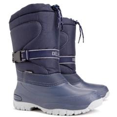 Детские зимние сапоги Demar CROSS B синий