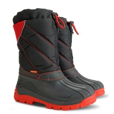 Зимние сапоги Demar NIKO C / NIKO-M C черно-красные