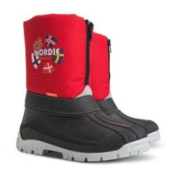 Детские зимние сапоги Demar NEW NORDIC (C) красный