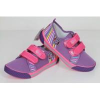 Детские кеды SUPER GEAR фиолетово-розовые
