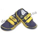 Детские кеды Super Gear A9801 сине-желтые