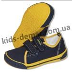 Детские кеды Super gear А 9803 / 9805 (сине-желтые)