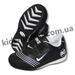 Детские кроссовки Nike черные 002( винил )