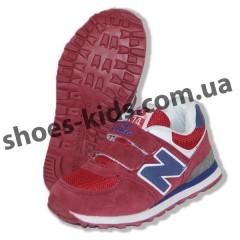 Детские кроссовки New Balance красно-синие