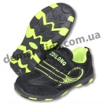 Детские кроссовки ZDL ( ZDILONG ) черно-зеленые-2