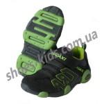 Детские кроссовки MADAXI  серо-зеленые