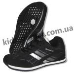 Детские кроссовки Bona черно-серые ( нубук ) 005