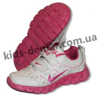 Детские кроссовки Nike серо-малиновые ( пенка )