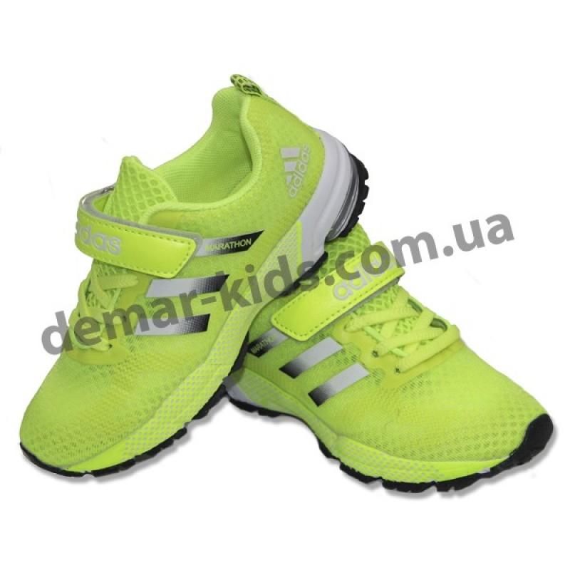 d75846194 Купить детские кроссовки Adidas Marathon салатовые (новинка 2016 )