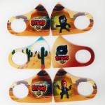 Качественные детские многоразовые маски для лица