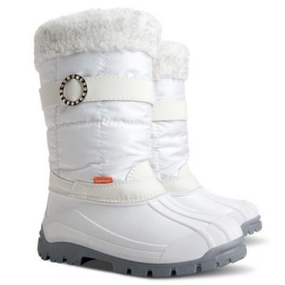Детские зимние сапоги Demar ANETTE-M (A) белые